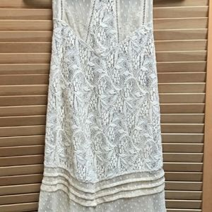 Free people lace top size xs
